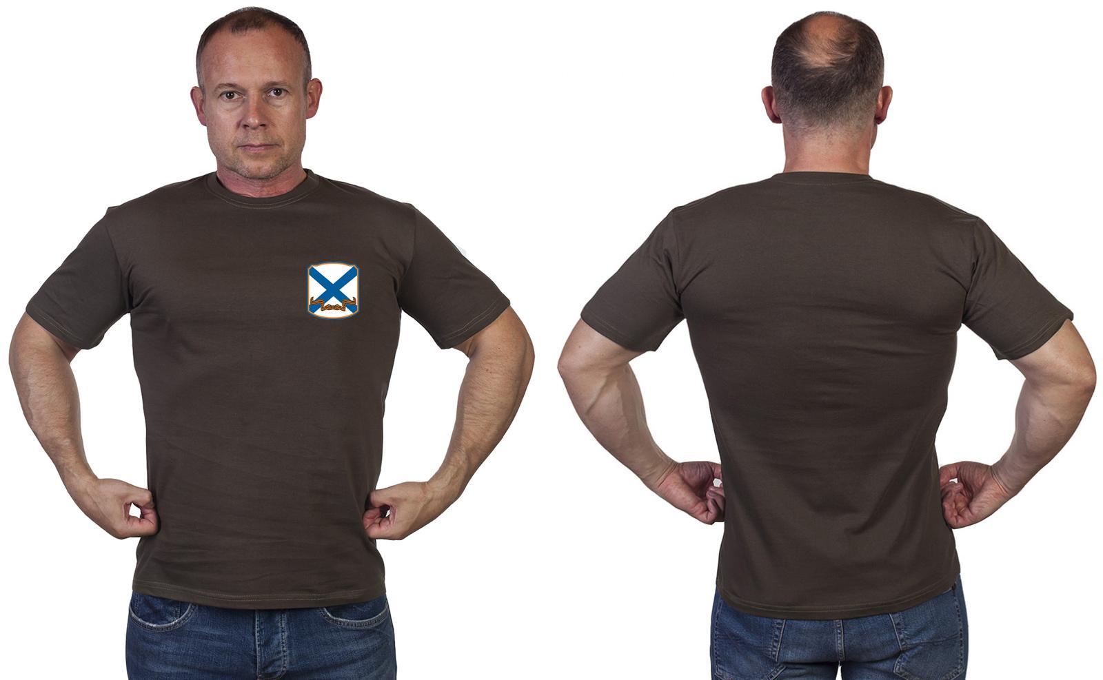 Оливковая футболка ВМФ России