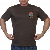Мужская оливковая футболка военного разведчика