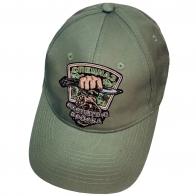 Оливковая кепка-бейсболка для охотника