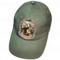 Оливковая кепка для охотника
