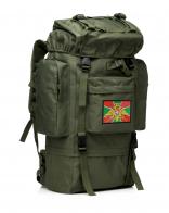 Оливковый милитари рюкзак с эмблемой Погранвойск