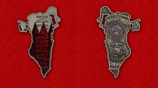 Operational Control Division Command United States Marine Corps in Bahrain Challenge Coin - obverse and reverse