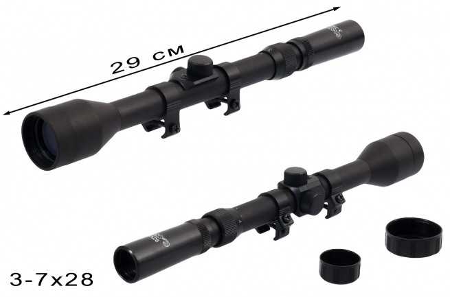 Оптический прицел для охотника Gamo 3-7x28