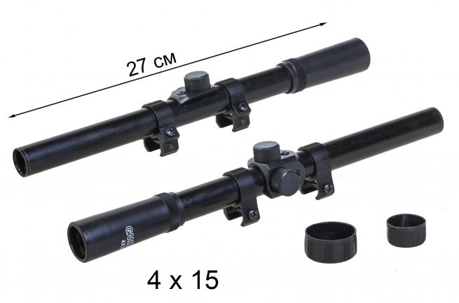 Оптический прицел для охотника Gamo 4x15