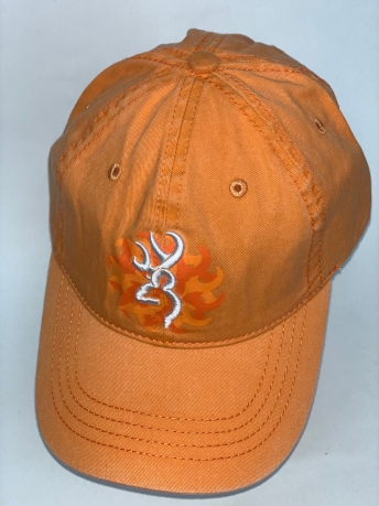 Оранжевая бейсболка Browning с вышивкой и принтом