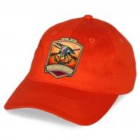 Оранжевая бейсболка РУССКАЯ ОХОТА