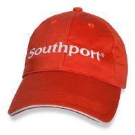 Оранжевая бейсболка Southport.