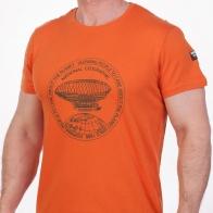 Оранжевая футболка мужская (National Geographic Society, США)