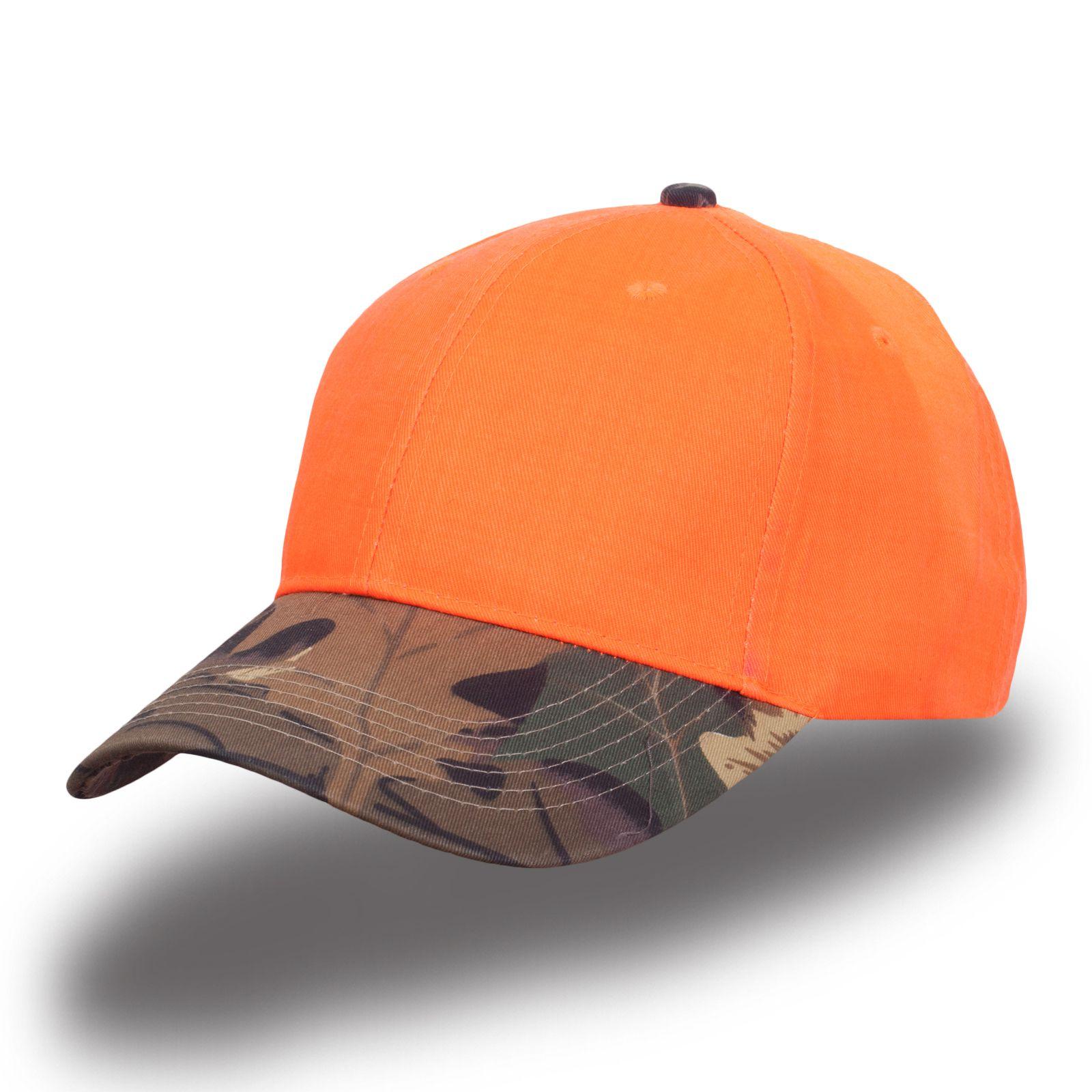 Оранжевая кепка - купить в интернет-магазине с доставкой