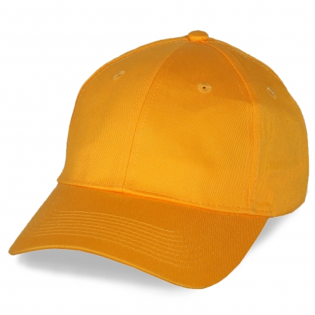 Оранжевая кепка под нанесение торговой марки