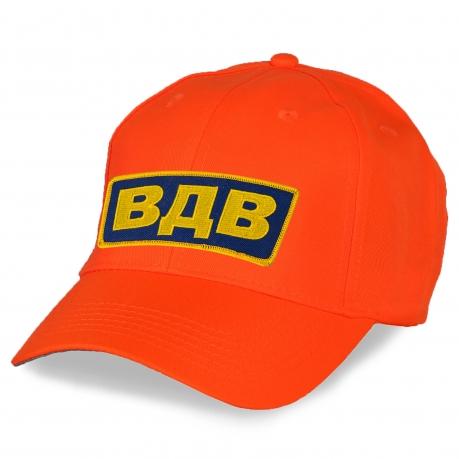 Оранжевая кепка ВДВ.