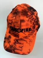 Оранжевая летняя бейсболка Camofire камуфляж питон