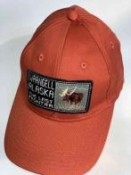 Оранжевая мужская бейсболка Wrangell Alaska