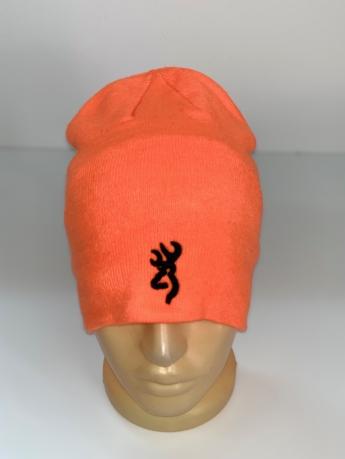 Оранжевая шапка Browning