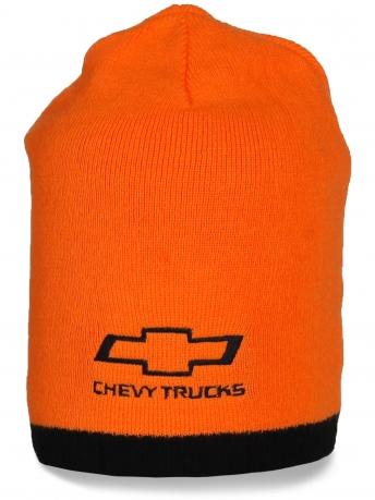 Оранжевая шапка Chevy Trucks от Chevrolet. Стильная и яркая модель, заказывайте!