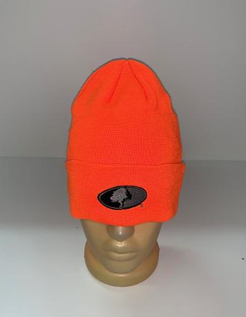 Оранжевая шапка от Mossy Oak
