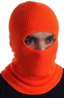 Оранжевая сигнальная маска-балаклава