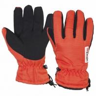 Оранжевые перчатки для зимнего спорта HOTACE PRO (на флисе)