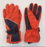 Оранжевые теплые перчатки от Glaciets