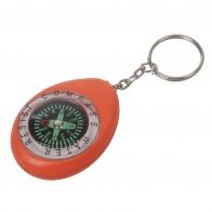 Оранжевый брелок с компасом K280