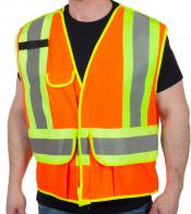 Оранжевый сигнальный жилет для водителя Forcefield®