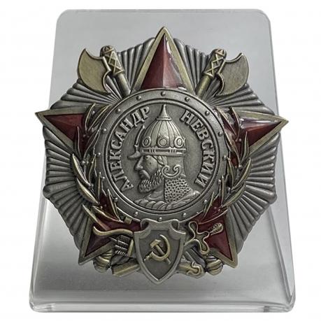 Орден Александра Невского на подставке