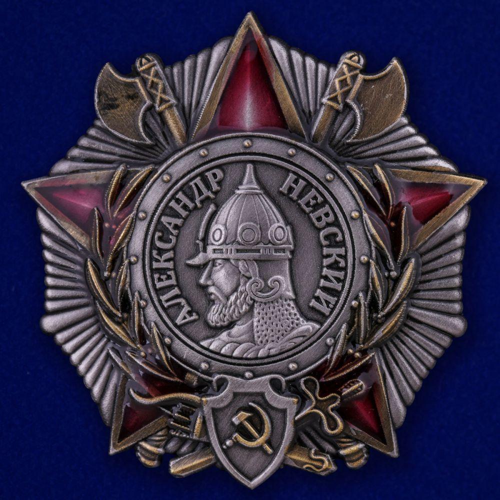 Орден Александра Невского (СССР) на подставке - общий вид