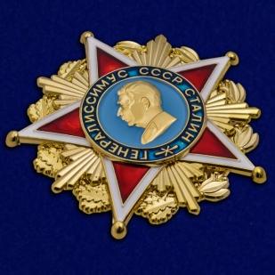 Орден Генералиссимуса Сталина - общий вид