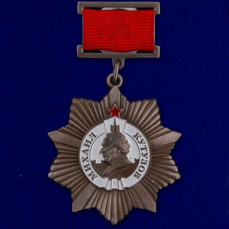 Орден Кутузова II степени (на колодке)