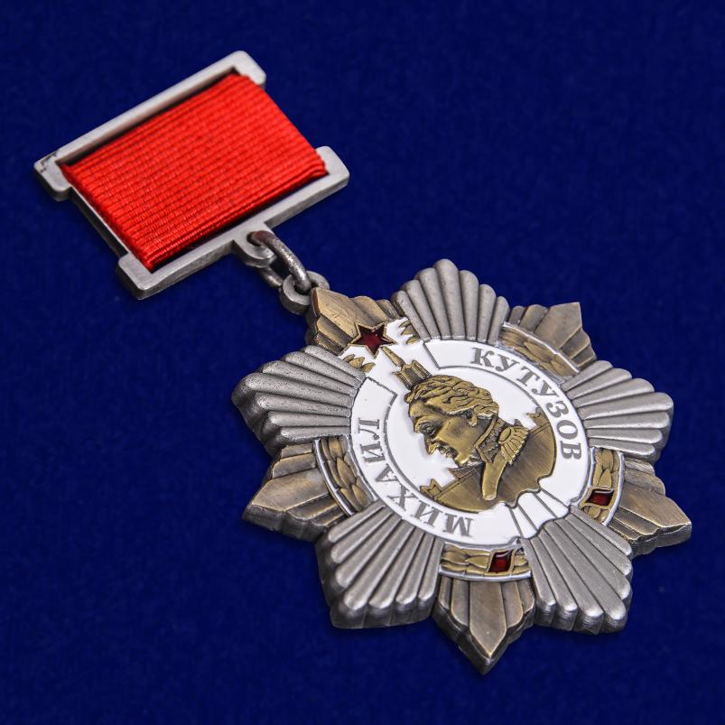 Муляж ордена Кутузова I степени – самая низкая стоимость на копию ТАКОГО качества