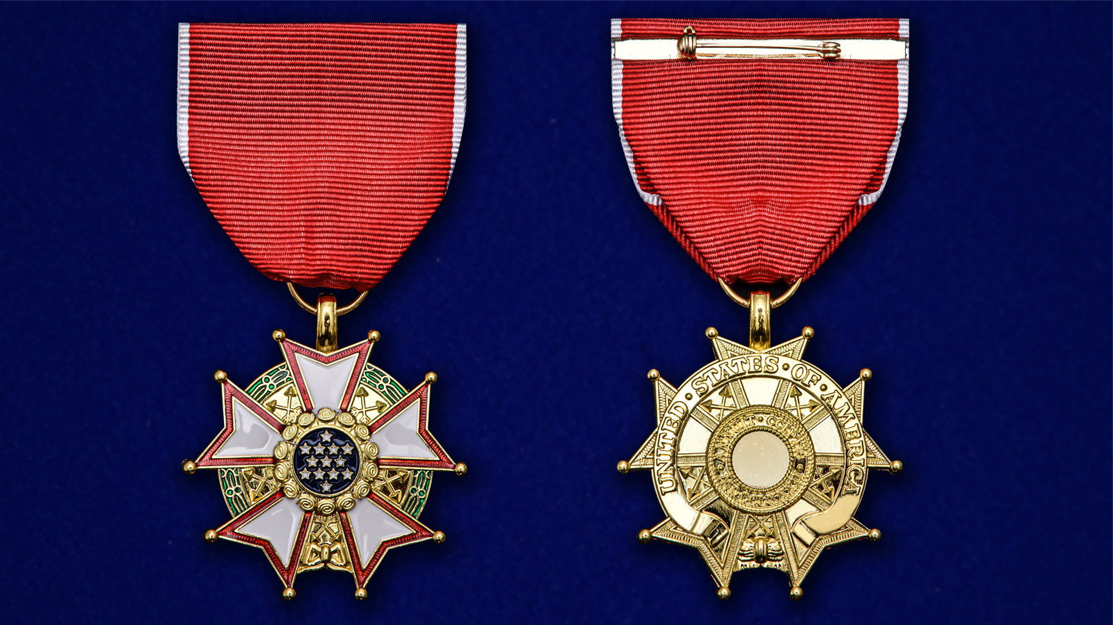 """Орден """"Легион Почета"""" США 4-й степени - высокого качества"""