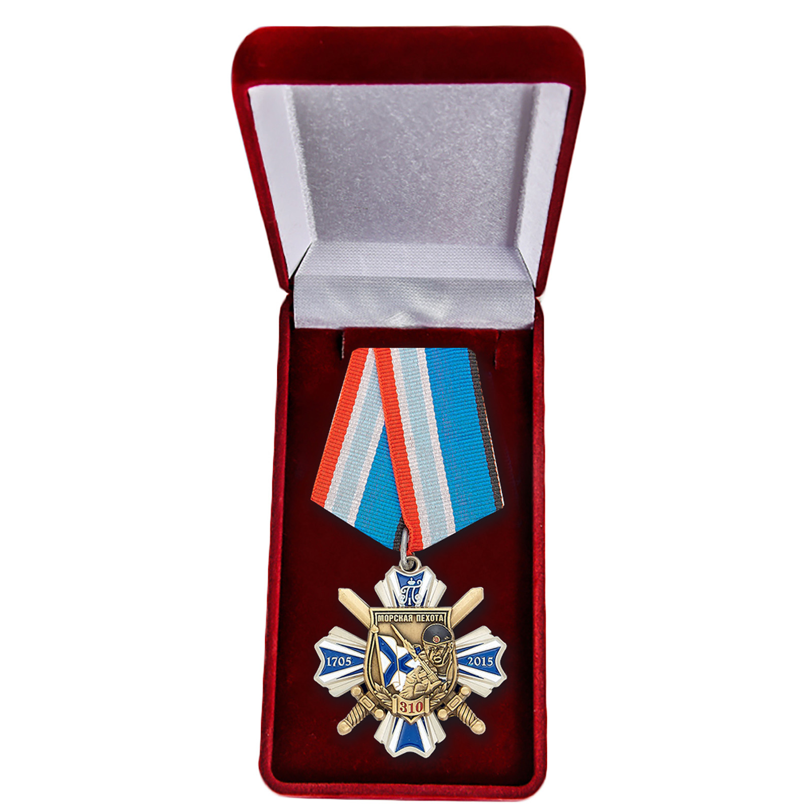 """Орден """"Морская пехота"""" на колодке"""