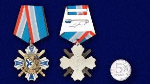 Орден Морская пехота - 310 лет (на колодке) - сравнительный размер