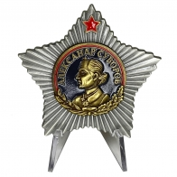 Орден Суворова 1 степени на подставке