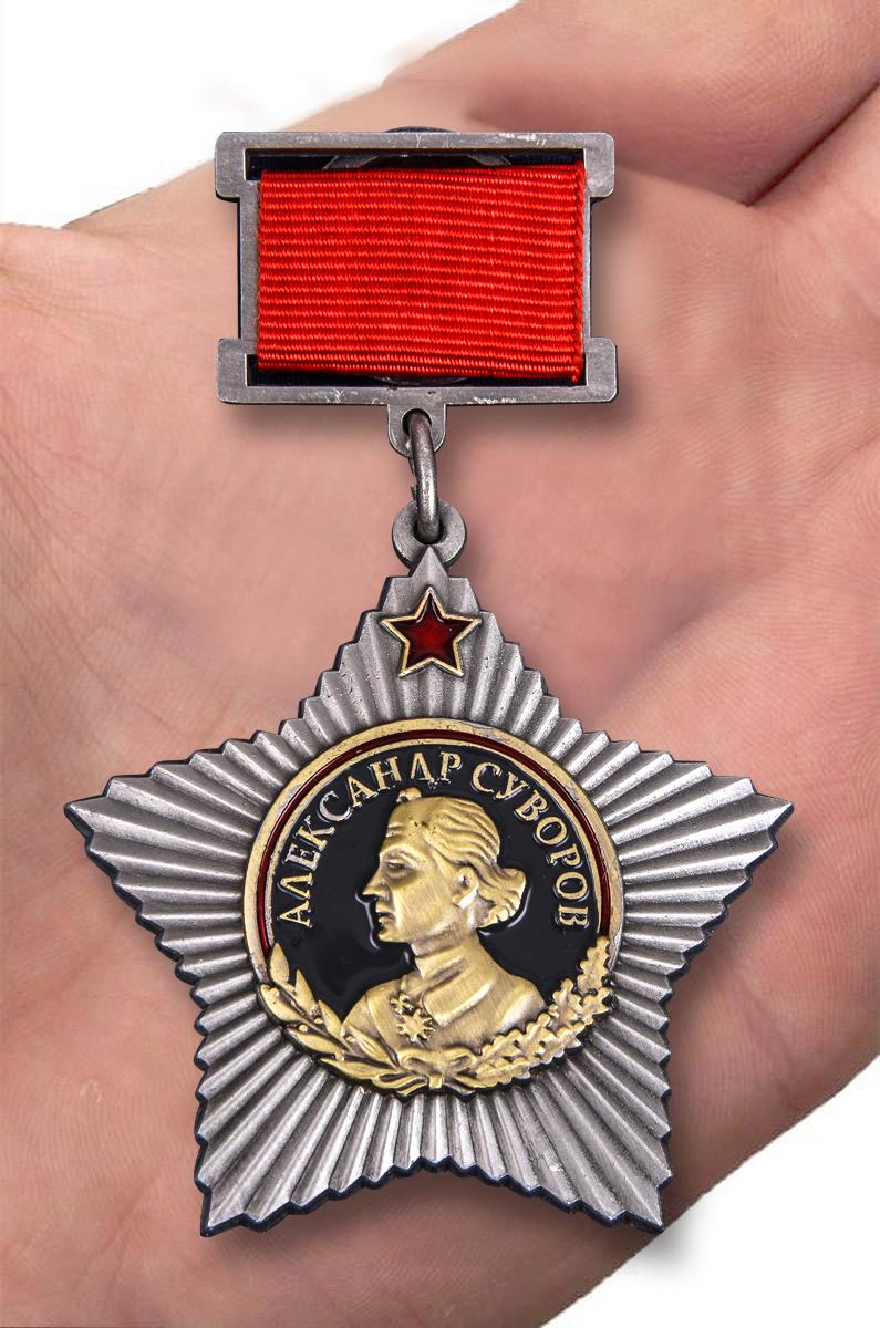 Орден Суворова I степени (на колодке) от Военпро