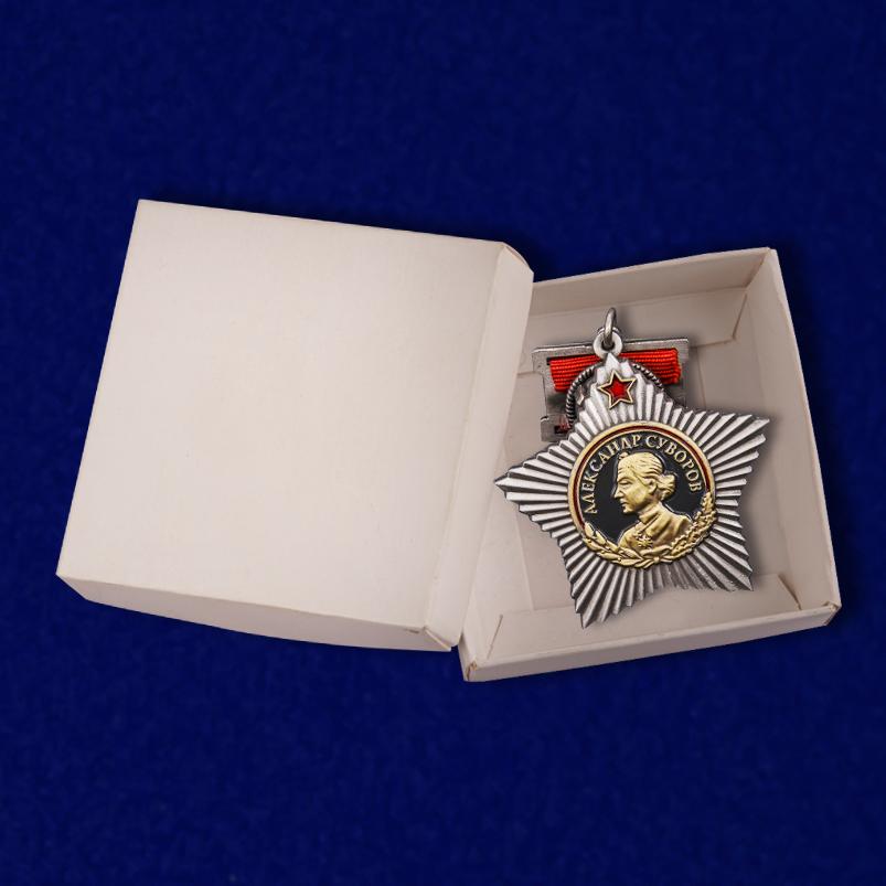 Орден Суворова I степени (на колодке) с доставкой