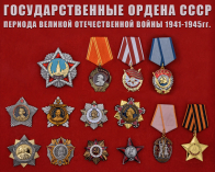 Ордена ВОВ