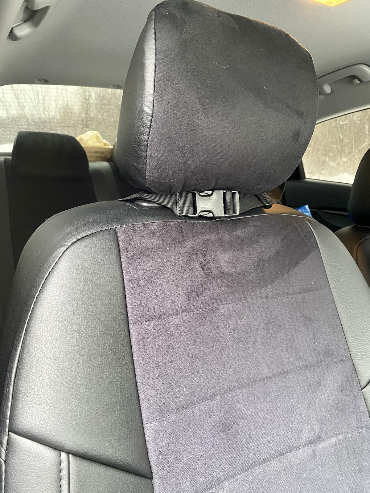 Органайзер на спинку сиденья машины (черный)