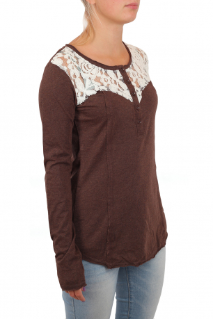 Оригинальная женская кофточка Panhandle Slim в романтичном стиле Прованс кэжуал. Удобно, красиво и демократично. Будь заметной!