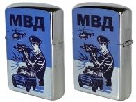 Оригинальная бензиновая зажигалка МВД