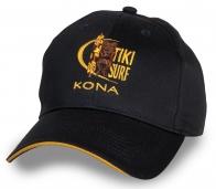 Оригинальная черная бейсболка Kona