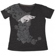 Оригинальная футболка с дизайнерским рисунком