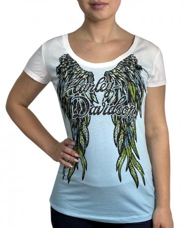 Оригинальная футболка с принтом Harley-Davidson