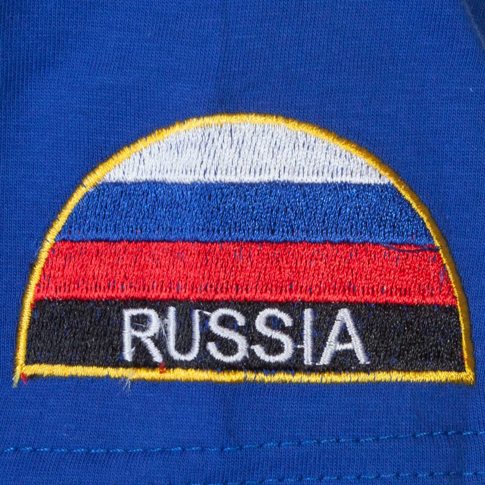 Уставная футболка МЧС России - вышивка
