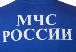 Уставная футболка МЧС России - принт