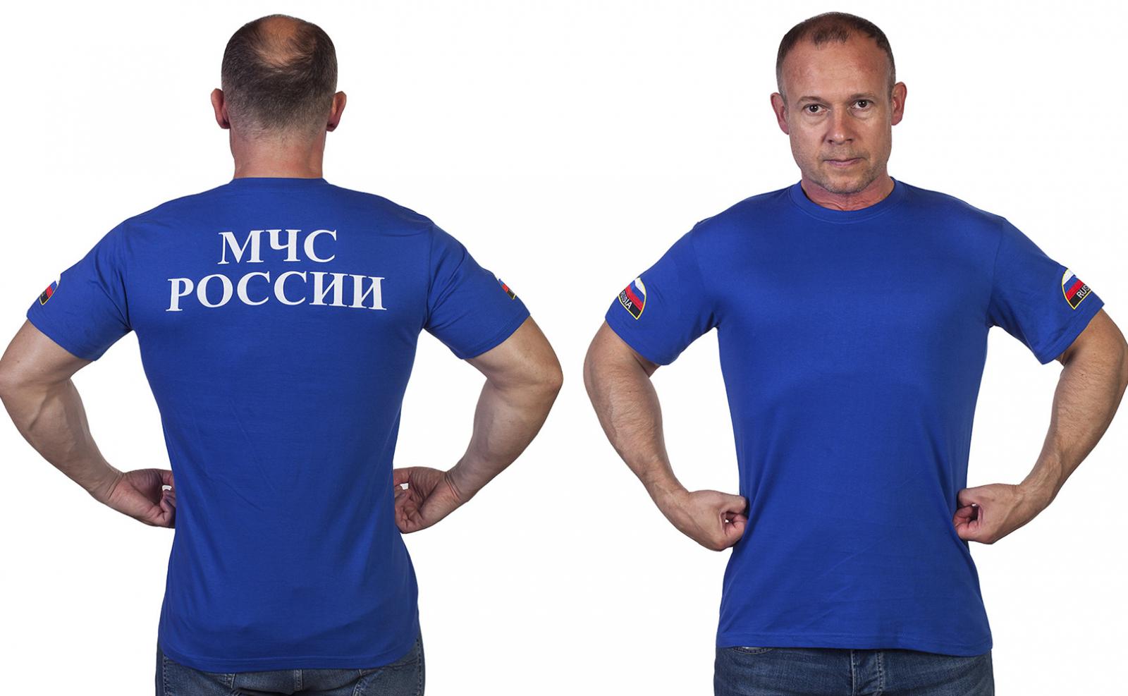 Уставная футболка МЧС России - купить онлайн