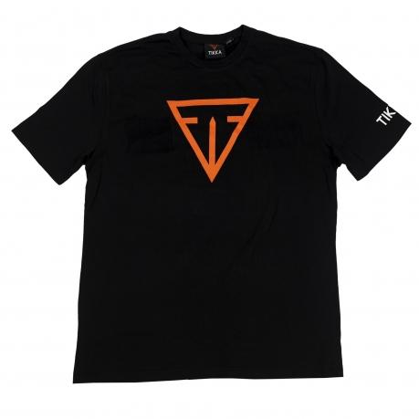 Оригинальная футболка Tikka черного цвета