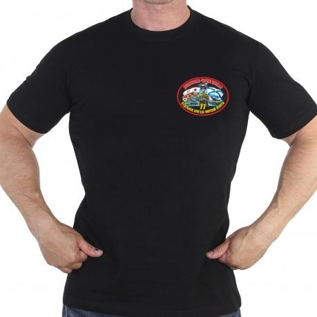 Оригинальная хлопковая футболка с термонаклейкой 77 Отдельная бригада Морской Пехоты