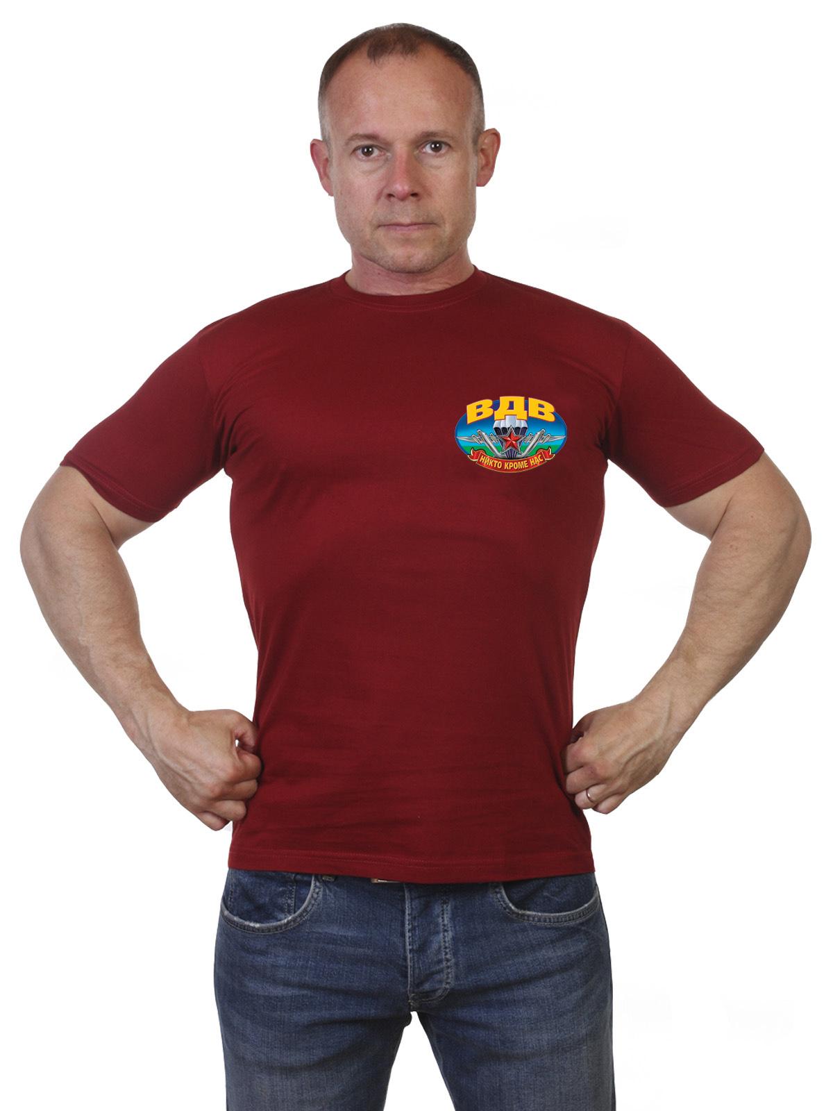 Купить оригинальную хлопковую футболку ВДВ в подарок