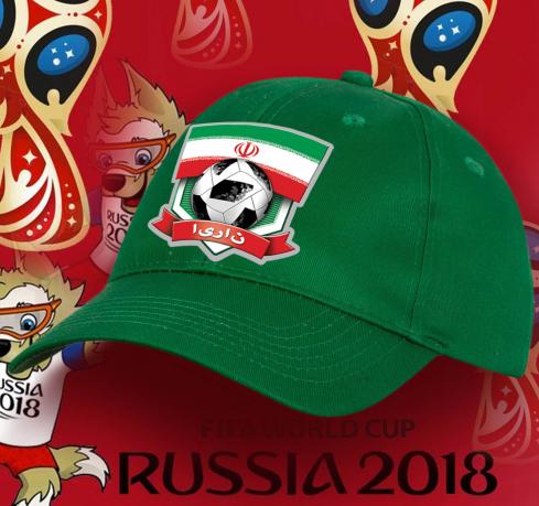 Оригинальная кепка фаната иранской сборной по футболу
